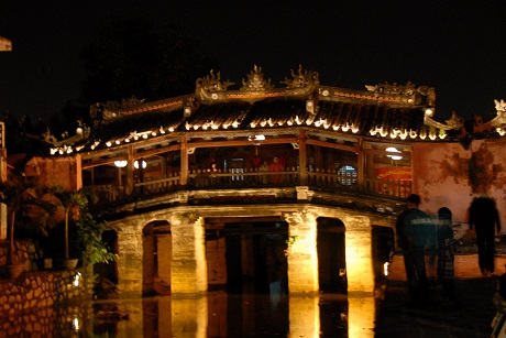 An old bridge in Hoi An