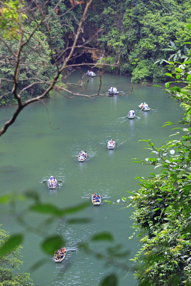 Trang An is an eco-tourism zone of World Heritage