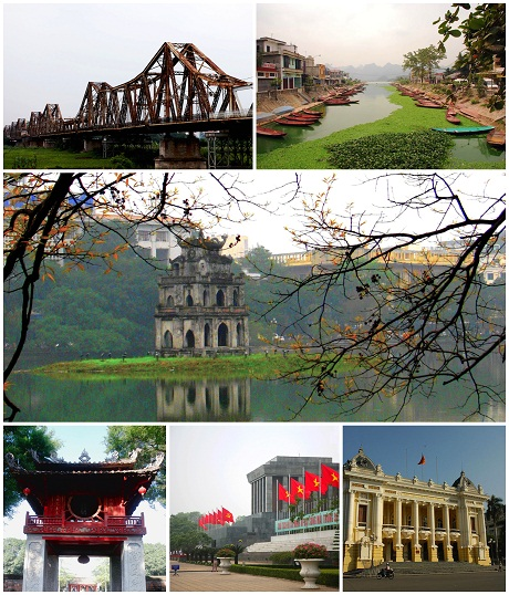 Some famous places in Hanoi