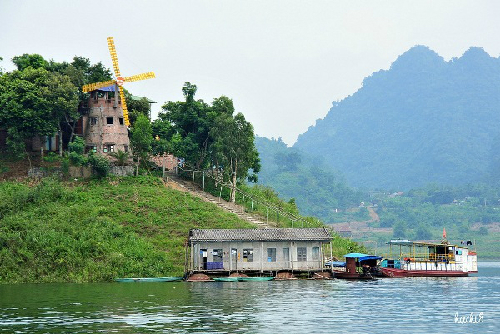 Windmill is considerd as a sign of Thung Nai